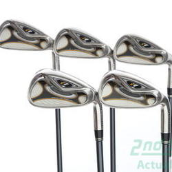 TaylorMade R7 Iron Set 6-PW TM Reax 65 Graphite Regular Right Handed 38.25 in Used Golf Clubs