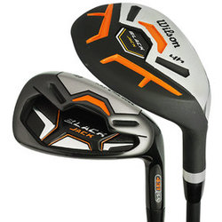 Wilson Golf- Black Jack Hybrid Irons Graphite