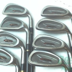 Cobra CXI Iron Set 3-PW Stock Graphite Shaft Graphite Stiff Right Handed 38 in Used Golf Clubs