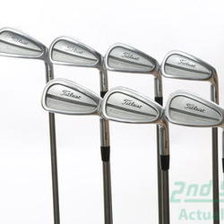 Titleist 714 CB Iron Set 4-PW True Temper DG PRO S300 Steel Stiff Right Handed 38 in Used Golf Clubs