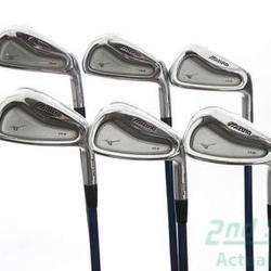 Mizuno MP-H4 Iron Set 5-PW Project X 5.5 Graphite Graphite Regular Right Handed 37.25 in Used Golf Clubs