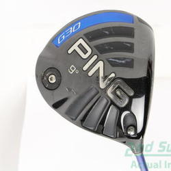 Ping G30 Driver 9° Ping TFC 419D Graphite Regular Right Handed 45.5 in Used Golf Club