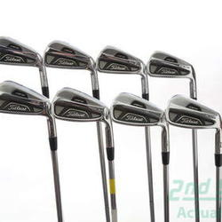 Titleist 712 AP2 Iron Set 3-PW Stock Steel Shaft Steel Stiff Right Handed 38 in Used Golf Clubs