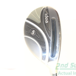 Adams 2014 Idea Womens Hybrid 5 Hybrid Adams Grafalloy Idea 50 Graphite Ladies Right Handed 38.75 in Used Golf Club