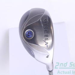 TaylorMade Miscela 2006 Hybrid 4 Hybrid TM miscela Graphite Ladies Right Handed 39.5 in Used Golf Club