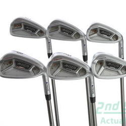Ping Anser Forged 2013 Iron Set 5-PW Ping TFC 169I Graphite Regular Right Handed Purple dot 38.25 in Used Golf Clubs