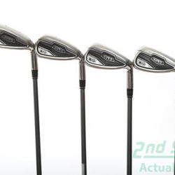 Adams Idea Tech V4 Iron Set 7-PW Adams Grafalloy V4.0 Graphite Graphite Regular Right Handed 37.5 in Used Golf Clubs