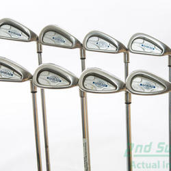 Callaway X-14 Iron Set 3-PW Protaper Precision Performance Plus Steel Regular 37.75 in Used Golf Clubs