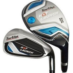Tour Edge Golf- Hot Launch Combo Irons (8 Club Set)
