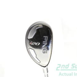 Ping I20 Hybrid 3 Hybrid 20° Ping TFC 707H Graphite X-Stiff Right Handed 40 in Used Golf Club