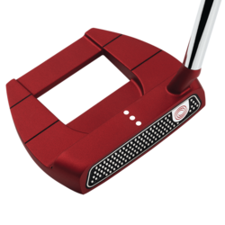 Odyssey 2018 O-Works Red Jailbird Mini Slant Putter Mens/Right