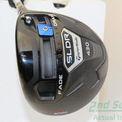 TaylorMade SLDR 430 TP Driver 10° Stock Graphite Shaft Graphite Stiff Right Handed 45 in Used Golf Club
