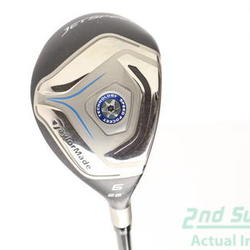 TaylorMade Jetspeed Hybrid 6 Hybrid 28° TM Matrix VeloxT 45 Graphite Ladies Right Handed 38.5 in Used Golf Club