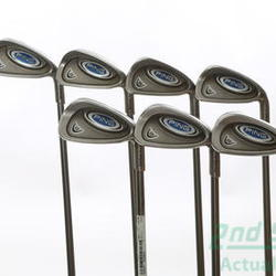 Ping i5 Iron Set 4-PW UST Rv2 95 Iron Graphite Stiff Right Handed Green Dot 38 in Used Golf Clubs