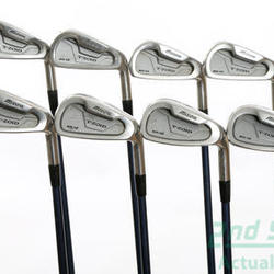 Mizuno MX 15 Iron Set 3-PW Stock Graphite Shaft Graphite Regular Right Handed 38 in Used Golf Clubs