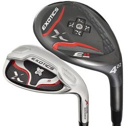 Tour Edge Golf- Exotics E8 Combo Irons (7 Club Set)