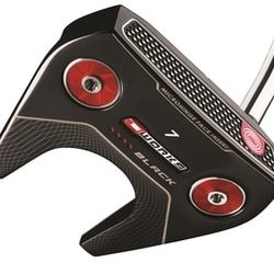Odyssey Golf O-Works Black #7 Putter Winn Mid AVS Red