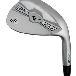 Mizuno Golf- LH S5 Forged White Satin Wedge (Left Handed)