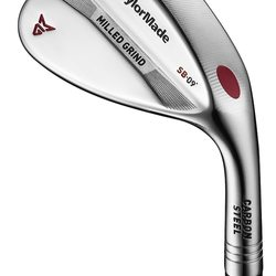 TaylorMade Golf- Milled Grind Wedge Satin Nickel Chrome
